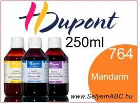 H.DUPONT Gőzfixálós Selyemfesték   250ml   764 - Mandarine   Mandarin