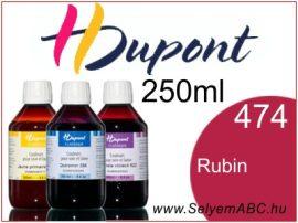 H.DUPONT Gőzfixálós Selyemfesték | 250ml | 474 - Rubis | Rubin