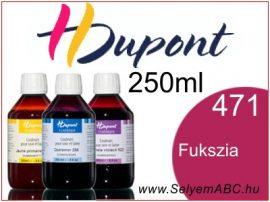 H.DUPONT Gőzfixálós Selyemfesték   250ml   471 - Fuchsia   Fukszia