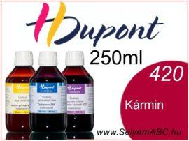 H.DUPONT Gőzfixálós Selyemfesték | 250ml | 420 - Carmin | Kármin
