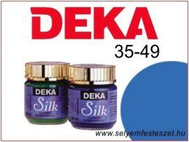 DEKA Selyemfesték   35-49   25ml   Kék