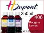 H.DUPONT Gőzfixálós Selyemfesték   250ml   406 - Rouge a Levres   Piros ajak
