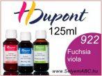 H.DUPONT Gőzfixálós Selyemfesték   125ml   922 - Fuchsia Violacé   Fuchsia Viola