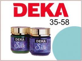DEKA Selyemfesték | 35-58 | 25ml | Türkizkék