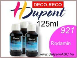 H.DUPONT Gőzfixálós Selyemfesték   125ml  921 - Rhodamine DECO RECO   Vörös