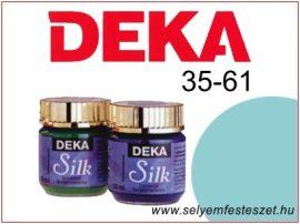 DEKA Selyemfesték   35-61   25ml   Türkizzöld