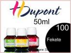 H.DUPONT Gőzfixálós Selyemfesték | 50ml | 100 - Noir | Fekete koncentrátum