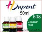 H.DUPONT Gőzfixálós Selyemfesték | 50ml | 608 - Imperial | Császár zöld