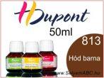H.DUPONT Gőzfixálós Selyemfesték | 50ml | 813 - Beaver brown | Hód barna
