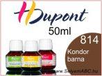 H.DUPONT Gőzfixálós Selyemfesték | 50ml | 814 - Condor |  Kondor barna