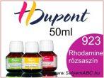 H.DUPONT Gőzfixálós Selyemfesték   50ml   923 - Rhodamine   Rhodamine rózsaszín