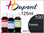 H.DUPONT Gőzfixálós Selyemfesték | 125ml | 100 - Noir | Fekete koncentrátum