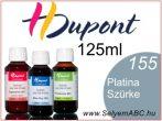H.DUPONT Gőzfixálós Selyemfesték   125ml   155 - Platinum   Platina