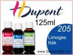H.DUPONT Gőzfixálós Selyemfesték | 125ml | 205 - Limoges Blue | Limoges kék