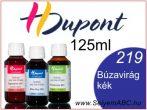 H.DUPONT Gőzfixálós Selyemfesték | 125ml | 219 - Comflower blue | Búzavirág kék