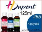 H.DUPONT Gőzfixálós Selyemfesték | 125ml | 265 - Bleu Roy | Királykék