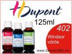 H.DUPONT Gőzfixálós Selyemfesték | 125ml | 402 - Windsor red | Windsor vörös