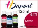 H.DUPONT Gőzfixálós Selyemfesték | 125ml | 420 - Carmin | Kármin