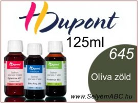H.DUPONT Gőzfixálós Selyemfesték | 125ml | 645 - Olive | Olíva zöld