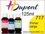 H.DUPONT Gőzfixálós Selyemfesték | 125ml | 717 - Jaune Primaire | Primer sárga