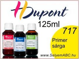 H.DUPONT Gőzfixálós Selyemfesték   125ml   717 - Jaune Primaire   Primer sárga