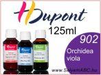 H.DUPONT Gőzfixálós Selyemfesték | 125ml | 902 -OrchidéeViolacée | OrchideaViola