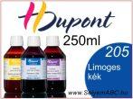 H.DUPONT Gőzfixálós Selyemfesték | 250ml | 205 - Limoges Blue | Limoges kék