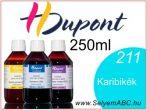 H.DUPONT Gőzfixálós Selyemfesték | 250ml | 211 - Caraibe  | Karibikék