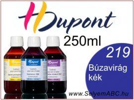 H.DUPONT Gőzfixálós Selyemfesték | 250ml | 219 - Comflower blue | Búzavirág kék