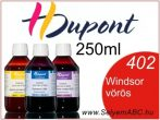 H.DUPONT Gőzfixálós Selyemfesték | 250ml | 402 - Windsor red | Windsor vörös
