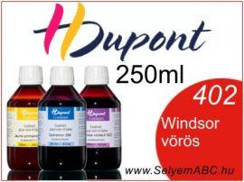 H.DUPONT Gőzfixálós Selyemfesték | 250ml | 402 - Windsor red | Windsor vörös