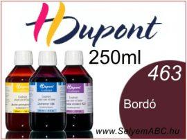 H.DUPONT Gőzfixálós Selyemfesték | 250ml | 463 - Bordeaux | Bordó