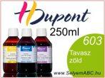 H.DUPONT Gőzfixálós Selyemfesték | 250ml | 603 - Printemps | Tavasz zöld
