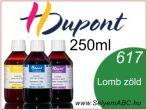H.DUPONT Gőzfixálós Selyemfesték | 250ml | 617 - Vert Feuillage | Lomb zöld