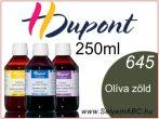 H.DUPONT Gőzfixálós Selyemfesték   250ml   645 - Olive   Olíva zöld