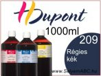 H.DUPONT Gőzfixálós Selyemfesték | 1000ml | 209 - Vieux bleu | Régies kék