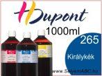 H.DUPONT Gőzfixálós Selyemfesték | 1000ml | 265 - Bleu Roy | Királykék