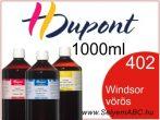 H.DUPONT Gőzfixálós Selyemfesték | 1000ml | 402 - Windsor red | Windsor vörös