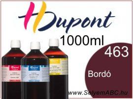 H.DUPONT Gőzfixálós Selyemfesték | 1000ml | 463 - Bordeaux | Bordó