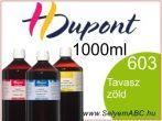 H.DUPONT Gőzfixálós Selyemfesték | 1000ml | 603 - Printemps | Tavasz zöld