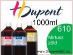 H.DUPONT Gőzfixálós Selyemfesték | 1000ml | 610 - Myrthe | Mirtusz zöld