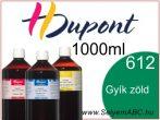 H.DUPONT Gőzfixálós Selyemfesték | 1000ml | 612 - Lézard | Gyík zöld