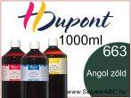 H.DUPONT Gőzfixálós Selyemfesték | 1000ml | 663 - Anglais | Angol zöld