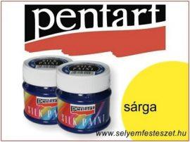 PENTART Selyemfesték |  50ml | Sárga