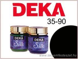 DEKA Selyemfesték | 35-90 | 25ml | Fekete