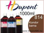 H.DUPONT Gőzfixálós Selyemfesték   1000ml   814 - Condor   Kondor barna
