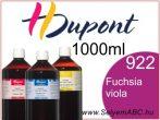 H.DUPONT Gőzfixálós Selyemfesték | 1000ml | 922 - Fuchsia Violacé| Fuchsia Viola