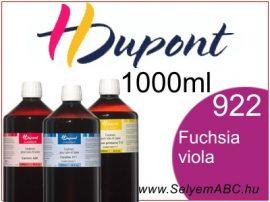 H.DUPONT Gőzfixálós Selyemfesték   1000ml   922 - Fuchsia Violacé  Fuchsia Viola