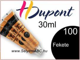 H.DUPONT Selyemkontúr | 30ml | 100 | Fekete