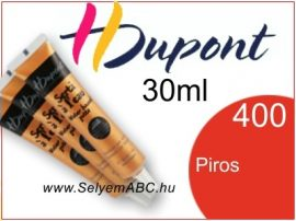 H.DUPONT Selyemkontúr | 30ml | 400 | Piros